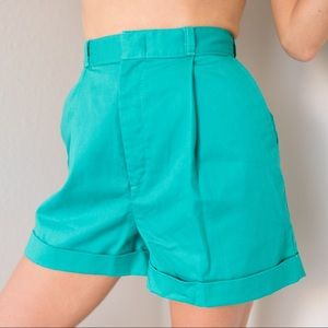 Vintage 80s High Pleated Shorts